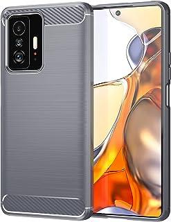 جراب OIATROE لهاتف Xiaomi 11T / 11T Pro ، غطاء نحيف للغاية [خفيف الوزن] [مضاد للخدش] [جراب ناعم] لهاتف Xiaomi 11T / 11T Pr...