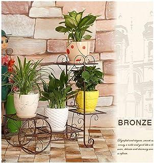 Flower stand Iron Flower Stand, Living Room Indoor Balcony, Multistorey Floorstanding Flower Pot, Frame, Plant Stand, Mult...