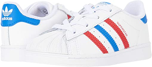 Footwear White/Blue/Scarlet