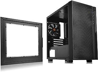 Thermaltake Versa H18 Window Micro Case, Black, CA-1J4-00S1WN-00