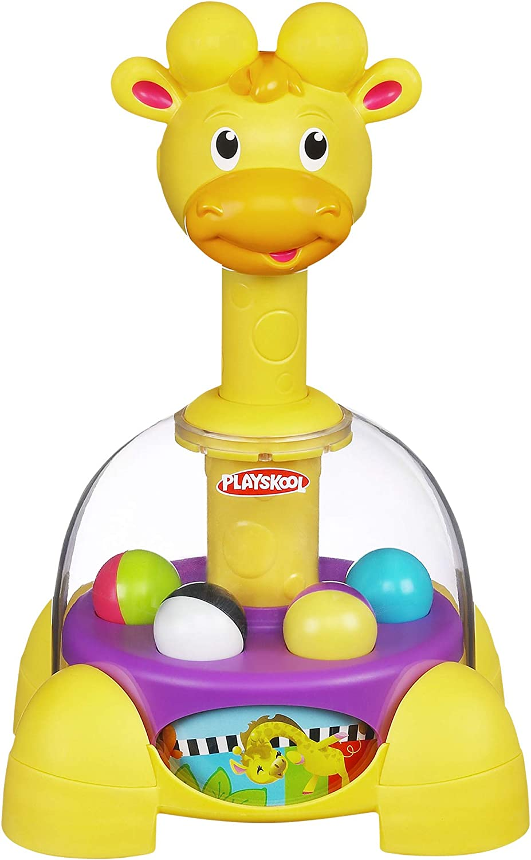 Playskool Giraffalaff Tumble Top Spinning and Popping