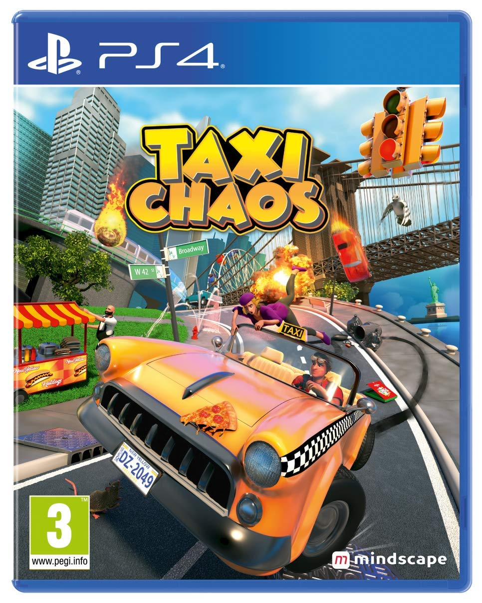 Popular brand in the world Taxi San Antonio Mall Chaos PS4