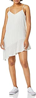 MINKPINK Women's Pin Stripe Assymetric Dress