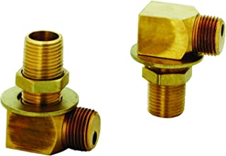 T&S Brass B-0230-K Installation Kit for B-0230 Style Faucets. Two short elbows, nipples, lock nuts and washers that provide 1/2