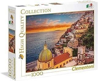 Clementoni Adult Positano 1000-Pieces Puzzle, Multi-Colour