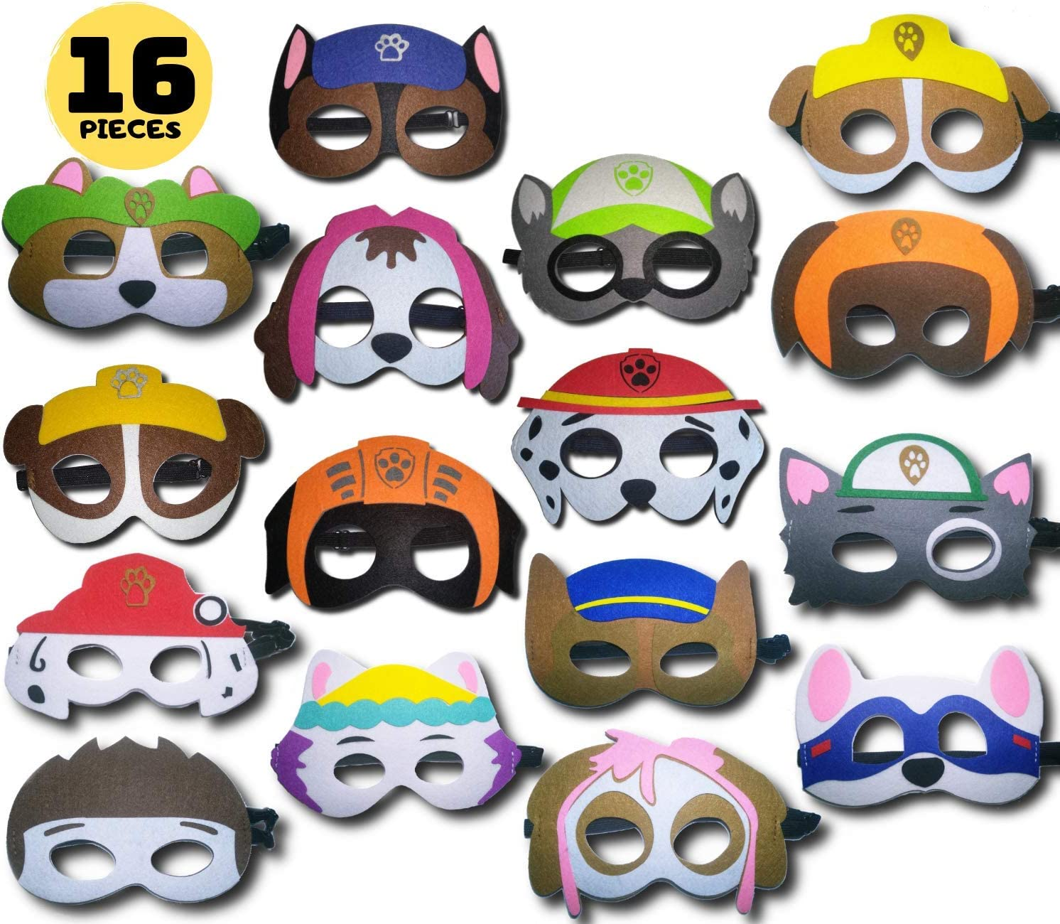 Trainer Pups Mask Paw Pups Felt Mask Felt Mask Costume