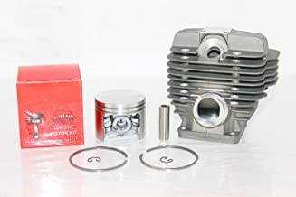 Lil Red Barn Stihl Ms440 Cylinder & Piston 50mm Kit, 12mm Wrist Pin with Deko, Replaces 1128 020 1227 Installation Instructions Included Two Day Standard Shipping to All 50 States!
