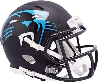 Riddell Carolina Panthers AMP Alternate Revolution Speed Mini Football Helmet - NFL Mini Helmets