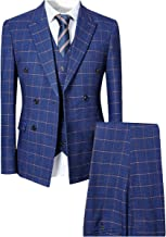 Best mens checked double breasted blazer Reviews