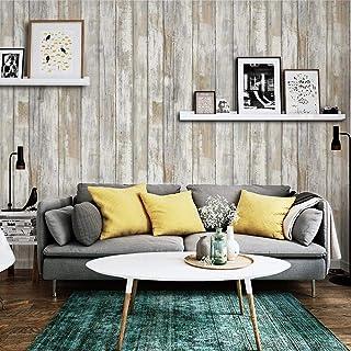 Hode Papel Adhesivo para Muebles Madera Papel Pintado 45cm X 2m Autoadhesivo Vinilos de Pared Decorativo PVC Impermeable Vinilo para Muebles Película para Sala de Estar Dormitorio Armarios
