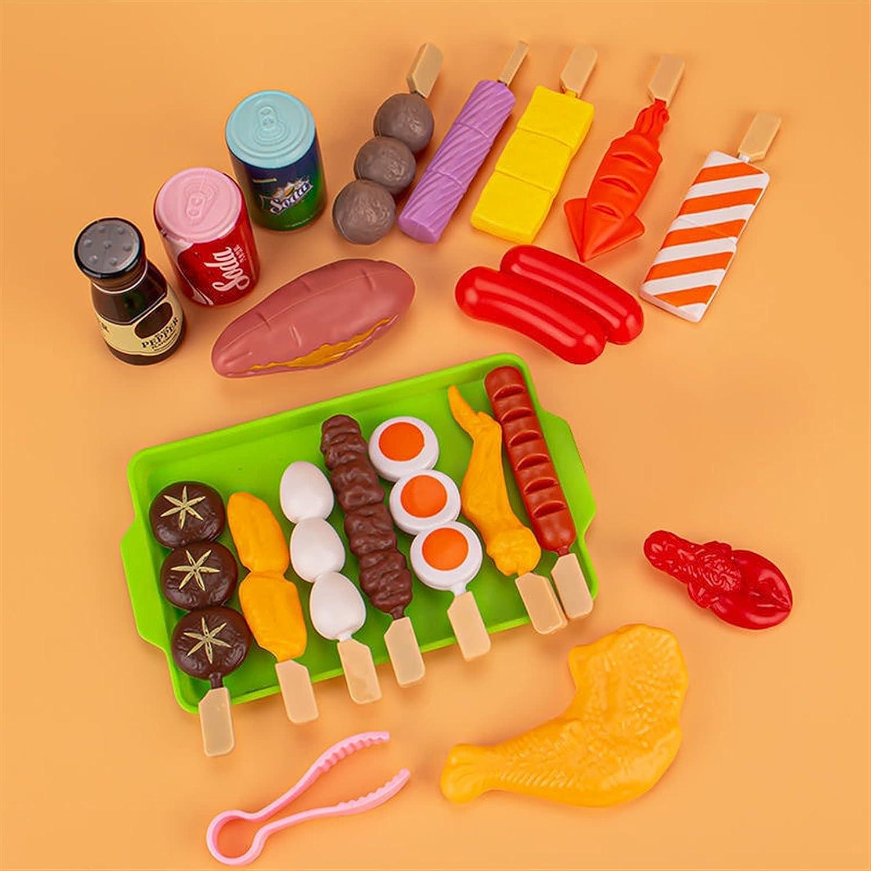 LUBINGT Kitchen Pretend service Manufacturer direct delivery Play Toys Pl Kids BBQ Simulation