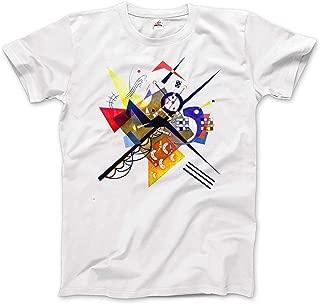 Wassily Kandinsky On White II (Auf Weiss) 1923, Artwork T-Shirt (Short & Long Sleeve)
