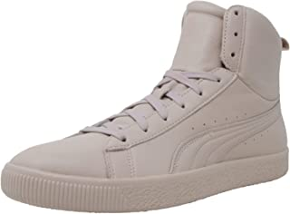 PUMA Mens Young & Reckless Clyde Mid Casual Sneakers,