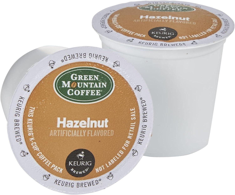 Green Mountain Hazelnut Coffee Keurig K-Cups, 18 Count