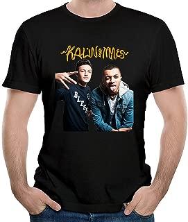 ILONSE Men's Kalin and Myles T Shirts Black