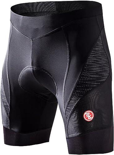 TOMSHOO Shorts Cyclisme Cale/çon de Cyclisme S/échage Rapide Gel 3D Rembourr/é pour Homme V/élo en Short sous-v/êtements Respirant