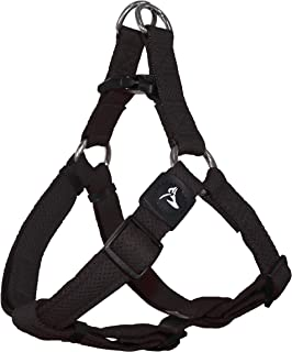 KRUZ PET KZA201-01L Step in Mesh Dog Harness – No Pull, Easy Fit Adjustable Pet Harness – Comfortable, Lightweight Padded ...