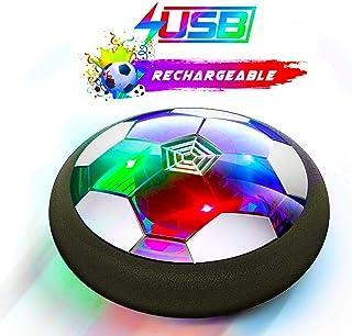 Ucradle Juguete Balón de Fútbol Flotante, Air Football on Luces LED