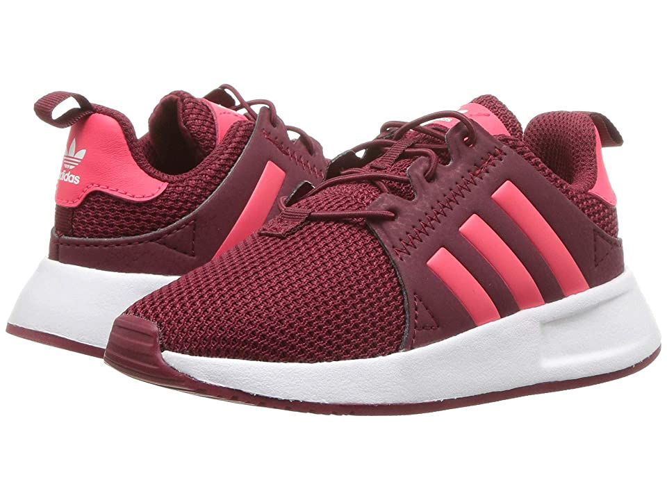 adidas Originals Kids X_PLR EL I (Toddler) (Legend Marine/Shock Cyan/White) Boys Shoes