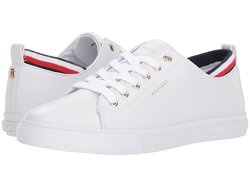 Tommy Hilfiger Lou (White Leather) Women