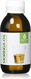 Moringa Oil, Cold Pressed 100% Pure, Food Grade