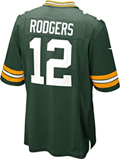 Nike NFL Green Bay Packers Aaron Rodgers Youth On-Field Jersey Size Large