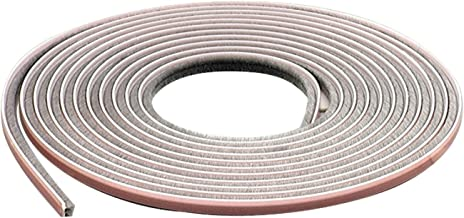 M-D Building Products 04267 M-D Epdm Adhesive Weather-Strip, 1/4 in W X 17 Ft L X 7/32 in H, Gray