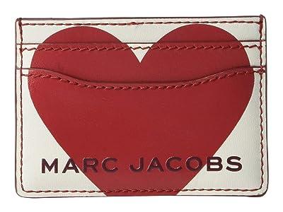 Marc Jacobs Vday The Box Card Case (Cotton Multi) Wallet Handbags