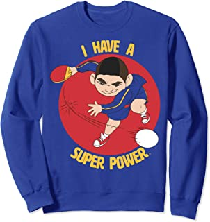 Over The Moon I Have A Super Power Sweatshirt