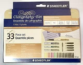Staedtler 5 Nib Calligraphy Pen Set (899SM5V)