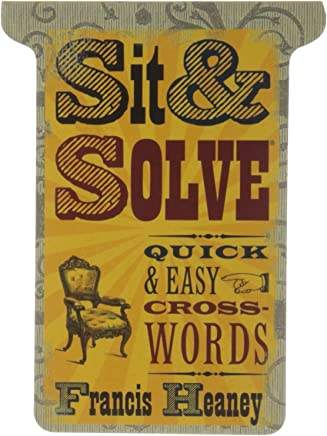 Sit & Solve� Quick & Easy Crosswords by Francis Heaney (22-Sep-2010) Paperback