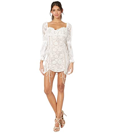 For Love and Lemons Monroe Mini Dress (White) Women