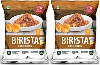 Kings Birista Fried Onion with Sunflower Oil Combo Pack of 2 – 450 Gram Each Pack