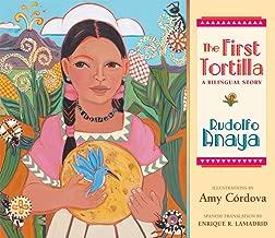إن أول ً ا tortilla: bilingual Story (باللغة الإنجليزية ، الإسبانية إصدار)