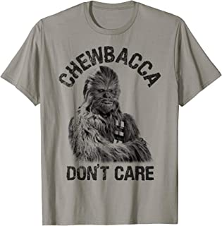 Star Wars Chewbacca Don't Care Graphic T-Shirt