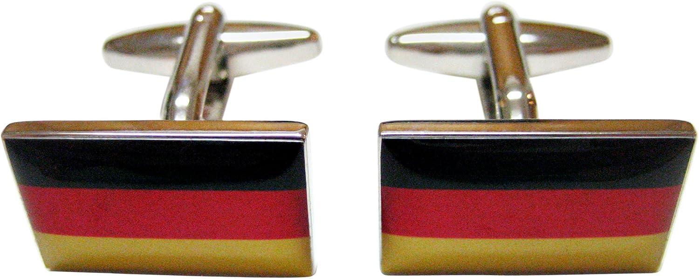 Kiola Designs Germany Flag Cufflinks