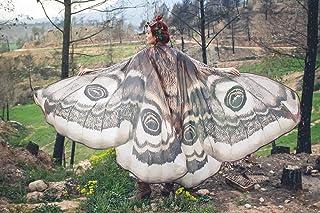 Alas de polilla, capa alas mariposa, danza