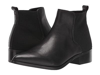 Steve Madden Jingle Ankle Boot (Black Leather) Women