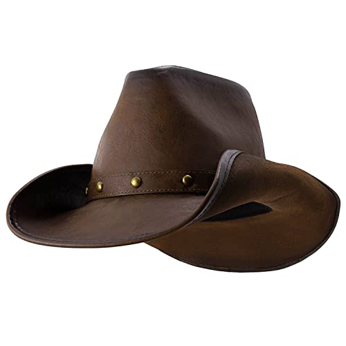 7e4a8bfea85 Broken Hill - Deadwood Trading • Australian Outback Cowboy Hat Chocolate