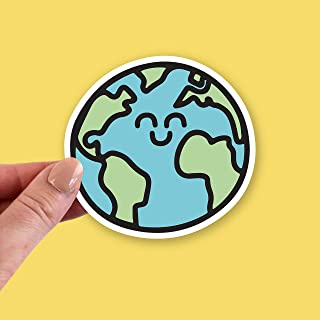 World Stickers, World Sticker, World Laptop Sticker, World Vinyl Stickers, Earth Sticker, Earth Day Sticker, Earth Day Stickers, Planet