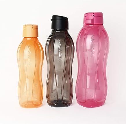 TUPPERWARE 2x Kopfüber Ständer für EcoEasy Flaschen Abtropfständer SCHWARZ