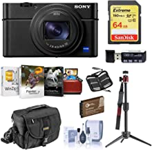 Class 10 Extreme Capacity Memory Card Works with Sony Cyber-Shot RX100 VI Digital Camera SDXC Synergy Digital Camera Memory Card 128GB Secure Digital