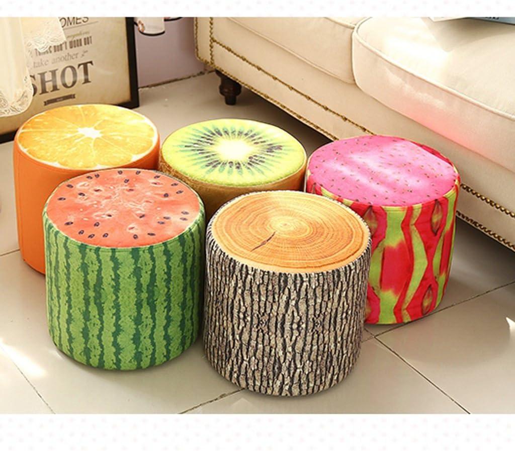 SLL- Tabouret créatif tabouret tissu fruit tabouret tabouret petit tabouret salon canapé tabouret Fauteuils et Chaises (Color : D) B