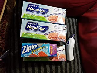 Reynolds Consumer Produ Handi Vac Bag Gallon 00591, One box of 9 bags