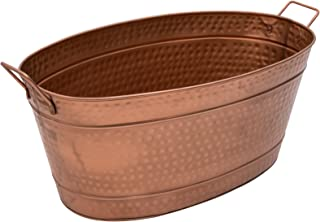 Achla Designs C-55C Hammered Oval Copper tub
