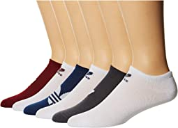Originals Trefoil No Show Sock 6-Pack
