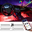 Govee Car LED Strip Waterproof 4pcs 48 LED APP Controller Lighting Kits