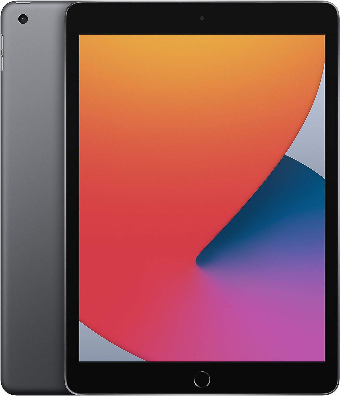 2020 Apple iPad (10.2-inch, Wi-Fi, 32GB) - Space Grey (8th Generation) :  Amazon.co.uk