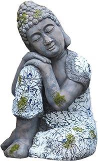 """ZYLE 18.11""""تمثال بوذا النائم العالي، أكسيد المغنيسيوم جنوب شرق آسيا يجلس تمثال بوذا في حديقة الفناء الرئيسية"""