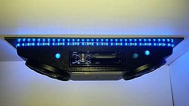 Custom Overhead Stereo Console RGB BOSS Lighted Speakers UTV Polaris RZR Ranger General with Bluetooth